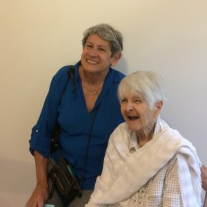 Adela Diez and her mother, Olga, 91, in their new home in Pittsboro.